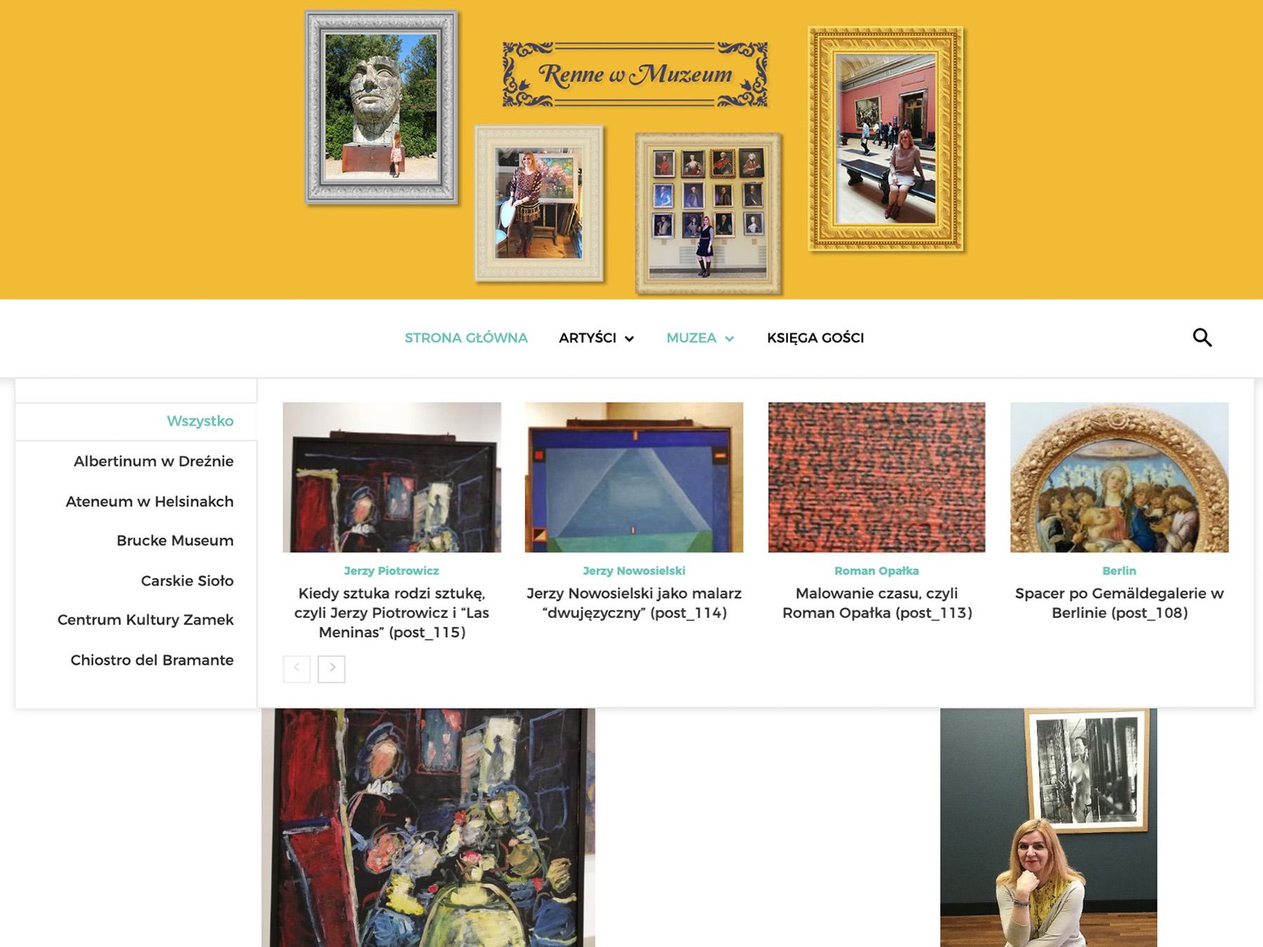 Renne w Muzeum - Blog artystyczny